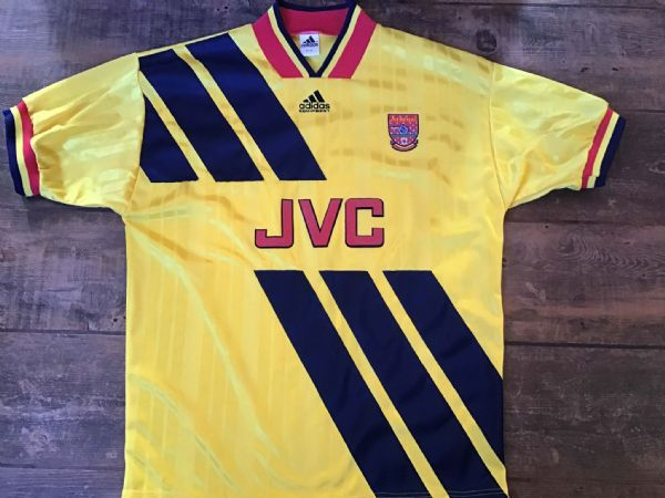 1993 1994 Arsenal Away Football Shirt Medium M